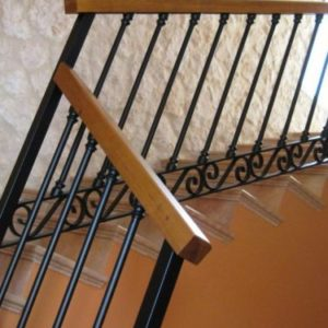 Barandillas, pasamanos y escaleras